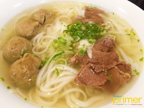 Pho Bac, A Vietnamese Noodle Shop in Makati