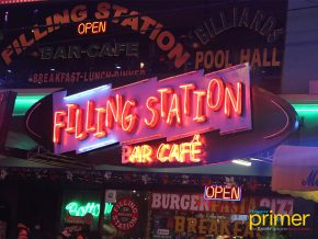 Filling Station in Poblacion, Makati: A Time Machine to the 50's