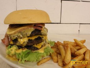 Zark's Burgers in Taft Ave., Malate