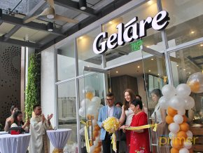 Gelare Ice Cream opens its flagship store in Manila