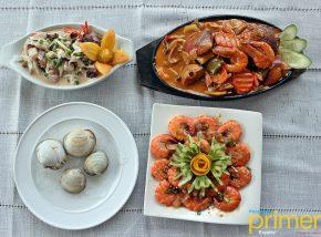 Celian Seafoods Restaurant in Guimaras