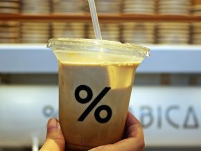 NEW in BGC: Japan's % Arabica opens first Manila branch