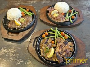 Sizzlin' Steak in Makati: Where Steak Cravings End on a Griddle