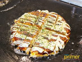 Dohtonbori in Quezon City: Authentic Okonomiyaki Experience