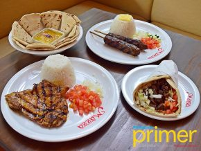 Mazza in Makati: Middle Eastern faves at reasonable prices