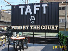 Taft Food by the Court in Pasay City: Hoops and Food under one roof