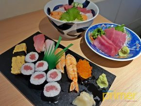 Araya Ramen & Sushi Bar in Makati: Experience dining in the sushi bars of Tokyo