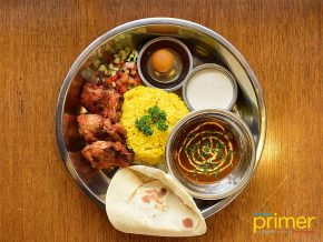 Naan Indian Street Kitchen in Kapitolyo: A Taste of Simple Indian Cooking