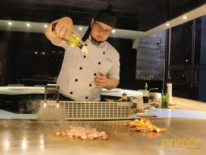 Teppan 101: Hibachi Grill and Performance Cooking at Subic