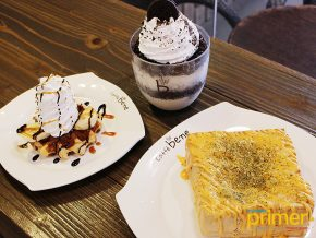 Caffe Bene in Salcedo Village: Good Coffee and Korean Desserts