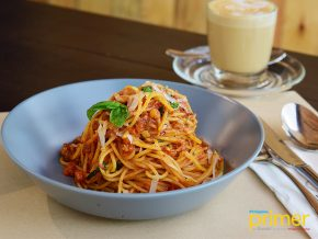 Trufa Pasta Bar in Salcedo Village, Makati Lets You Make Your Own Pasta Dish