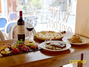 La Petite Parisienne in Salcedo Village Takes You to France With Their Wine and Cheese Selections