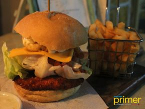 Catangnan Fried Chicken Near Cloud 9 in Siargao Serves the Best Chicken Burgers in Town