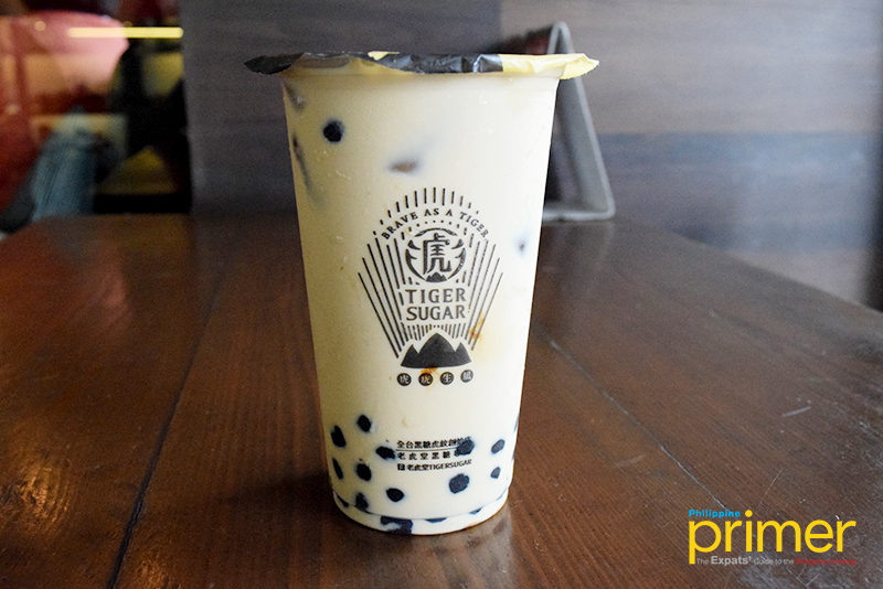 Tiger Sugar in BGC: Brown Sugar Boba Milk Is a Must Try