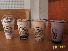 Oh Six Oh Eight in Candon: A Vibrant Yet Industrial Cafe Serving Local Milkteas