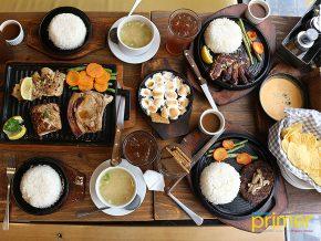 Sizzlin' Steak Platter Meals: Of Steaks and Good Friends