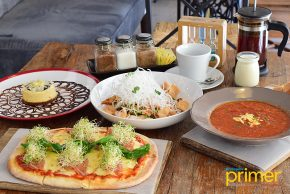 Designer Blooms Cafe in Molito: A Garden-Themed Resto Serving Comfort Food for the Soul
