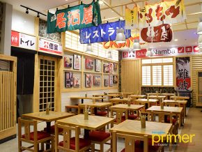 Namba Station, A Railway-Themed Japanese Food Stop in Venice Piazza
