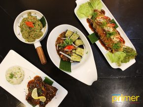 Persona Mesa in Tagbilaran City, Bohol Artfully Twists Asian Specialties for a Fancy Dinner