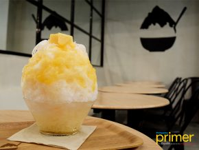Shari Shari Kakigori House Serves the Fluffiest Shaved Ice Dessert in BGC