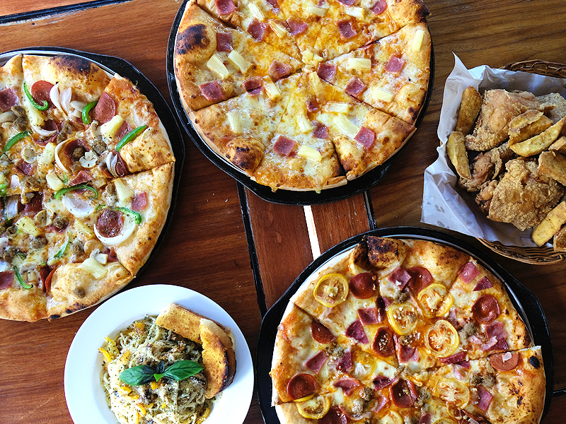 Casa Napoli In Basco Batanes Serving Comfort Food And Fresh From The Brick Oven Pizzas Philippine Primer