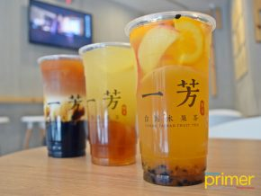 Yi Fang Taiwan Fruit Tea Gives You Naturally Sweet and Refreshing Drinks