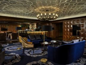 Baccarat Room and Bar in Bay City Offers World's Finest Cigar and Liquor