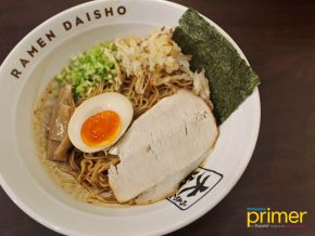 Ramen Daisho in Makati Highlights Authentic and Traditional Ramen