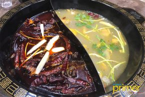 Spicy Hero Hotpot in Salcedo Village Offers Sichuan Hotpot Meals