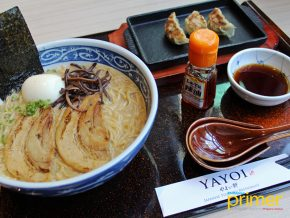 YAYOI Japanese Teishoku Restaurant in Makati Highlights Signature Rolls and Ramen Combos