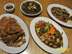 Visit Kinabuchs Grill and Bar at Puerto Princesa for their Crocodile Meat Dishes