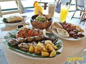 Cafe Athena in El Nido: Greek Mediterranean Along the Shore