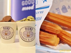 Nuki in SM Mall of Asia: A Dessert Combination of Honest-To-Goodness Churros and Gelato