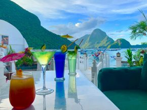 Liberté Bar in El Nido Lets You Enjoy Food and Cocktails Along Picturesque El Nido Beach