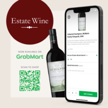 Estate Wine is NOW on GrabMart, Launches 2017 Monte Bello Pre-Arrival Sale