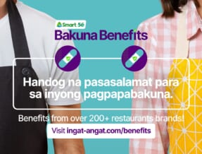 'BAKUNA BENEFITS':  200 Plus Restos offer Discounts and Deals for Vaccinated People