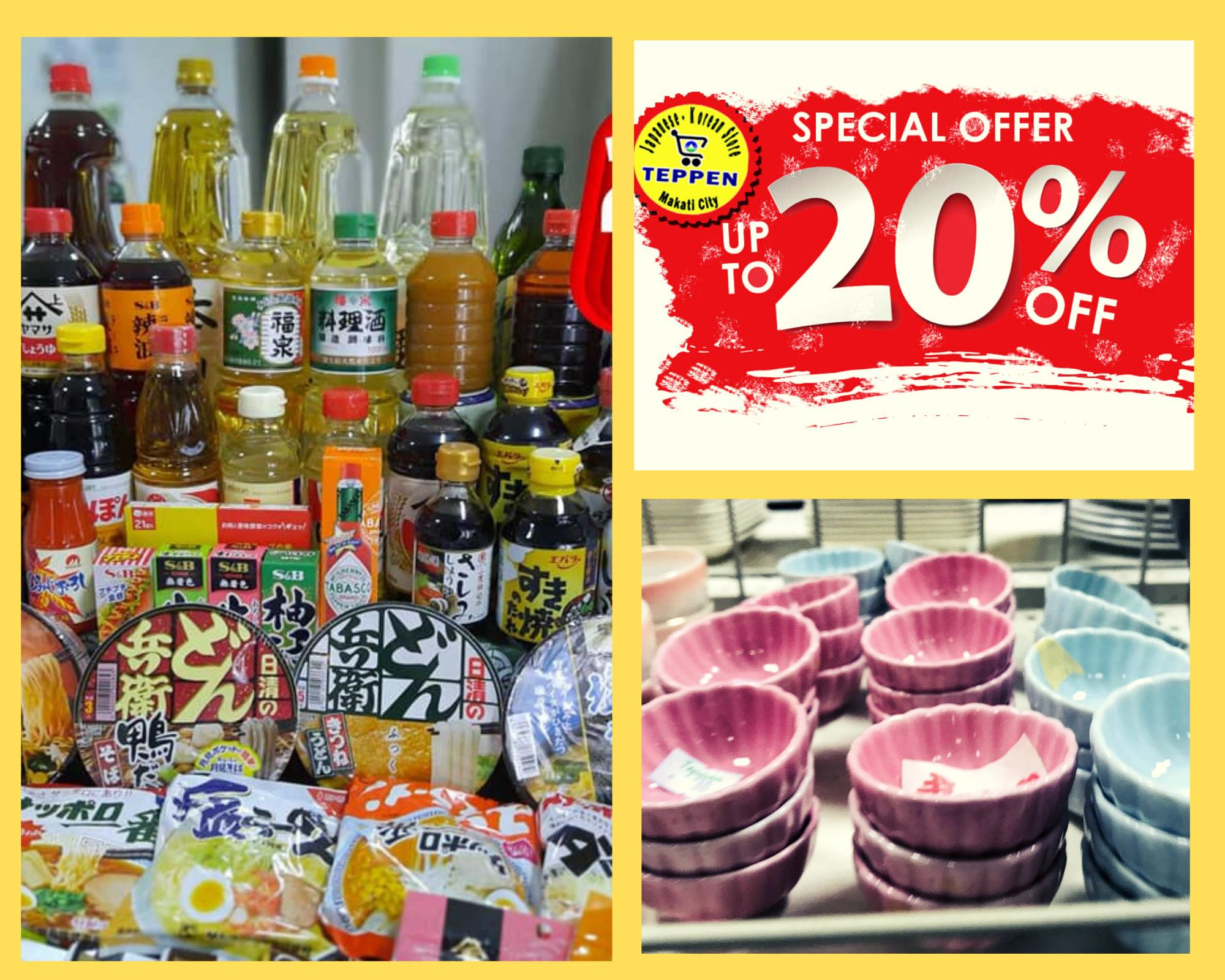GREAT DEALS: Teppen Grocery Store in Makati offers SALE up to 20% OFF
