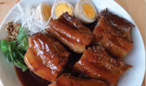 Simple and Easy Japanese-style Soy and Beer Braised Pork Belly