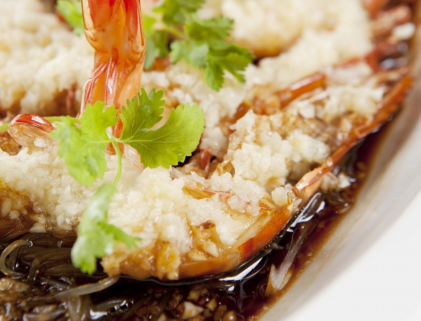 Steamed_tiger_prawns_with_minced_garlic_and_vermicelli