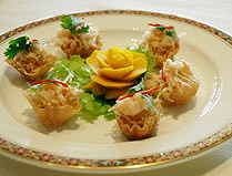 A taste of thai cuisine through benjarong restaurant at for Aroma royal thai cuisine
