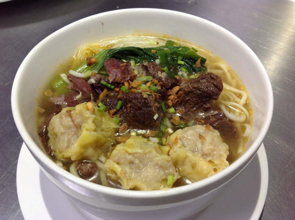 Braised Beef Noodle Soup with Extra Wanton P119 plus P30 Pic #2_rE