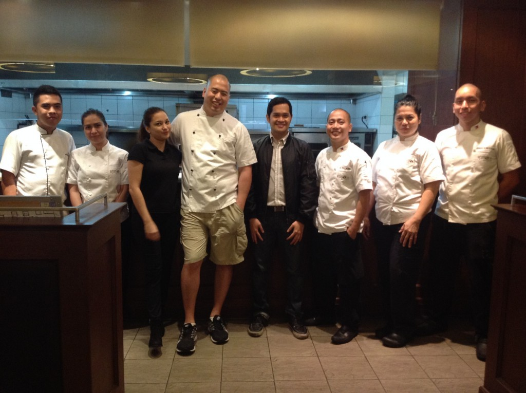 The Author with Chef Bruce Lim and Rustique's Kitchen Culinary Team Pic 16_re