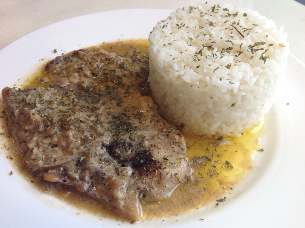 Lia s cakes in season philippine primer for Baked fish and rice