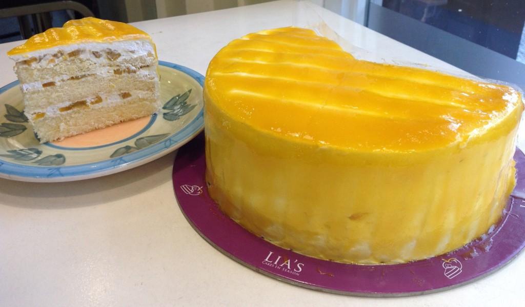 Mango Cream Cake (P130 per slice and P890 whole) Pic 9