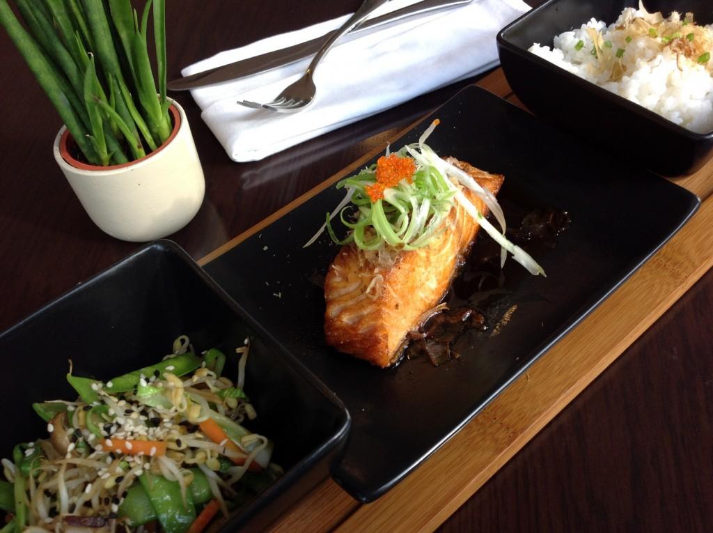 Pan-Seared Salmon with Mishima Mix (P395) Pic 10