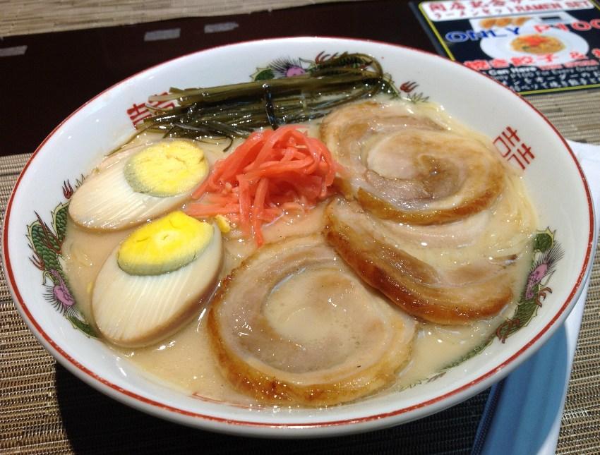 Tonkotsu Ramen or Pork Soup Ramen (P320) Pic 7