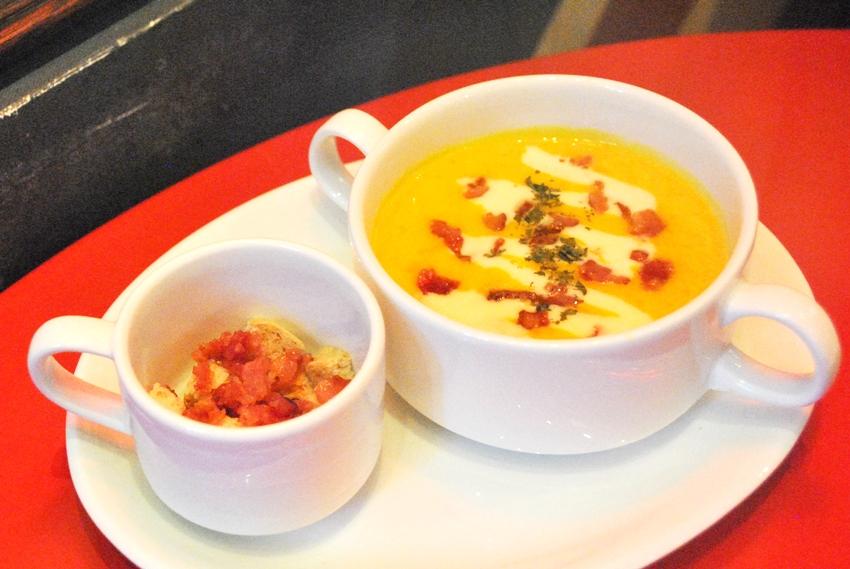 the eatles_pumpkin soup