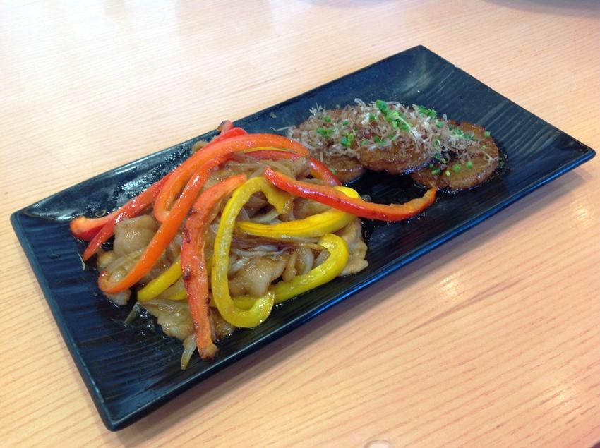 Ginger Pork Shogayaki with Sweet Radish Steak Set (P 495) Photo 9
