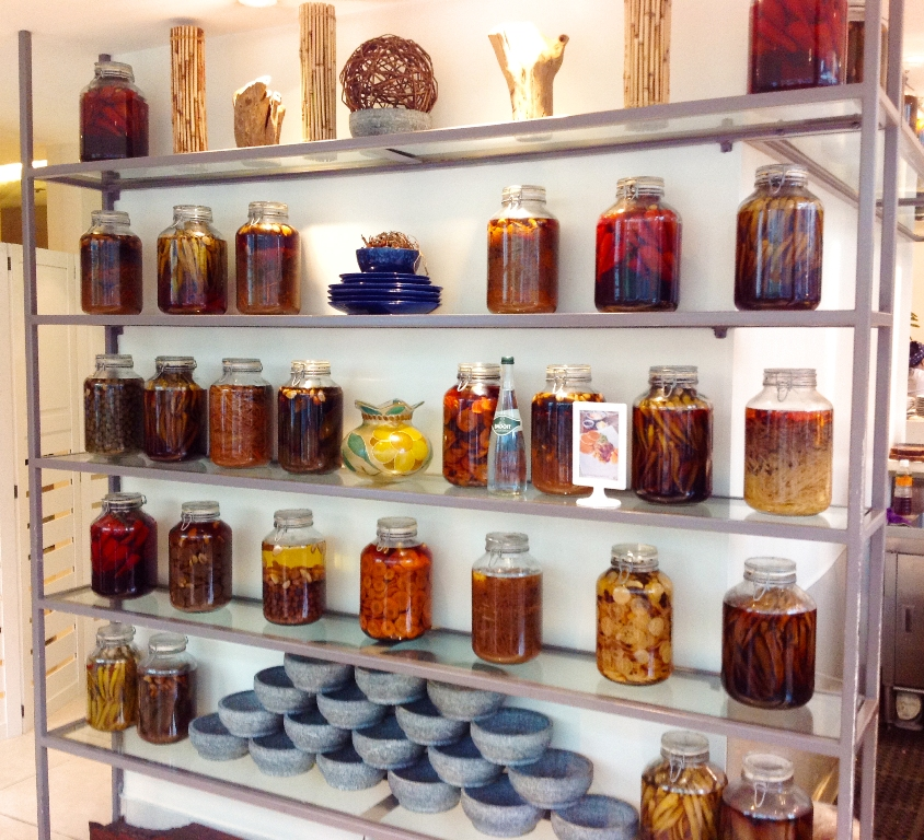 Interesting Display of Pickled Jars Photo 3