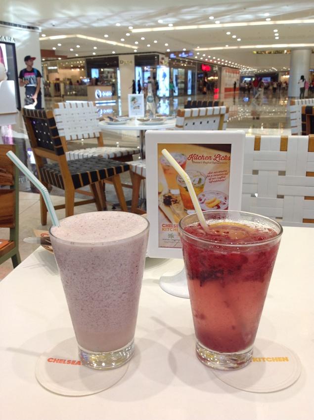 (L-R) Super Food Smoothie (P 195) and Honey Lime Fizz (P195) PHOTO 9